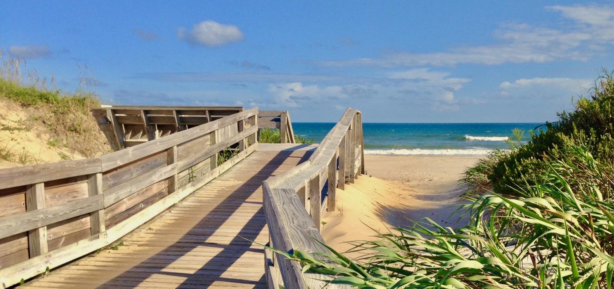 Ocracoke Beach Boardwalk